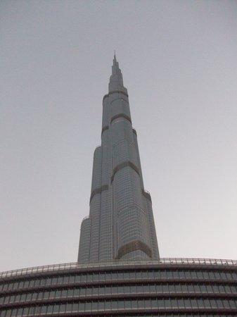 Burj Khalifa: Der Blick von unten