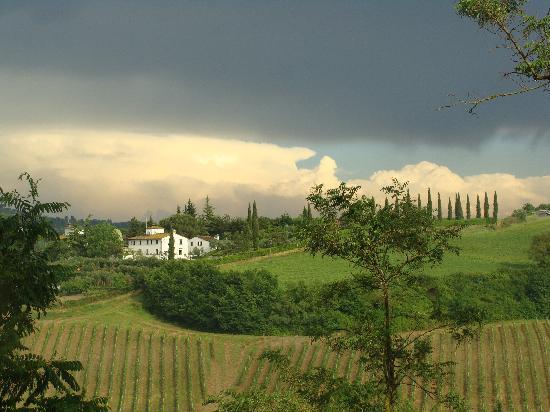 Le Mandrie di Ripalta: Campagne toscane après l'orage