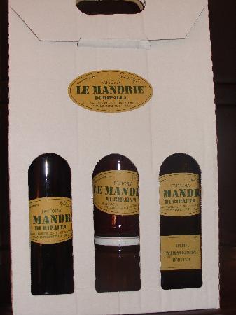 Le Mandrie di Ripalta: Produits de la propriété