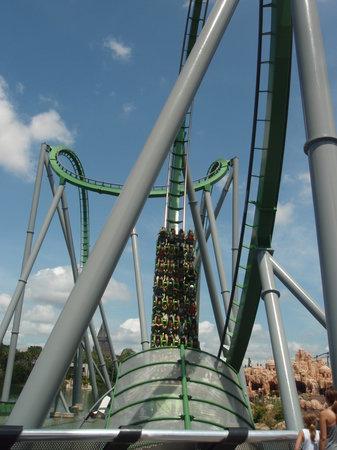 Universal Orlando Resort: The Hulk Rollercoaster