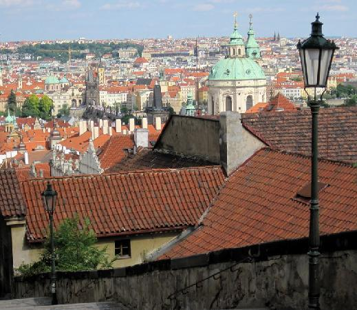 A view from the Prague Castle