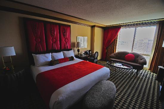 Paris Las Vegas Hotel Our Red Room Premier