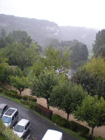 Hostellerie du Passeur : La vue depuis notre chambre (chambre 19)