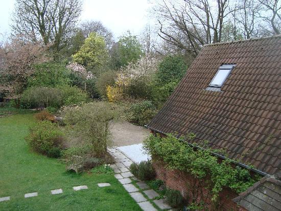Vue du jardin fotograf a de le jardin d 39 alix lille for Le jardin d alix lille