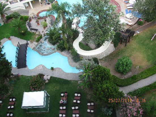 Hotel Calypso : une vue du 7 em etage