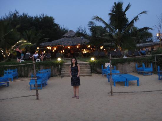 Chalston Beach Resort Restau At The Backdrop