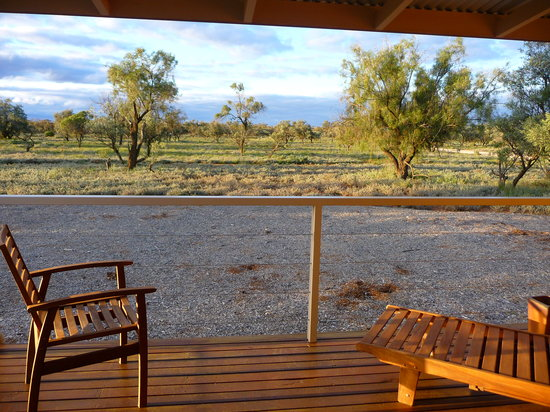 Mungo Lodge: View from deck