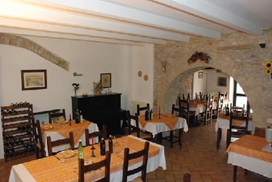 Agriturismo Il Castello: Il ristorante