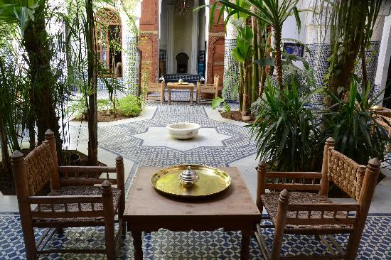 Riad Les Oudayas: le patio