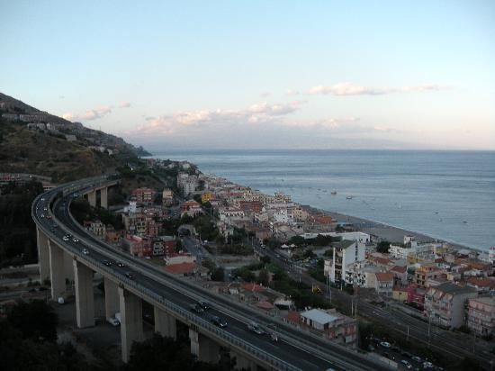 Hotel Antares: Il panorama dalla camera