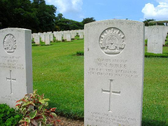 Museo y Capilla Changi: Krangi War graves
