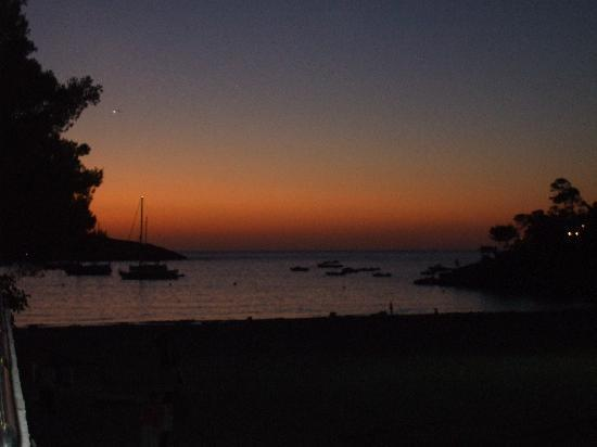 Sandos El Greco Beach Hotel: the view at sunset