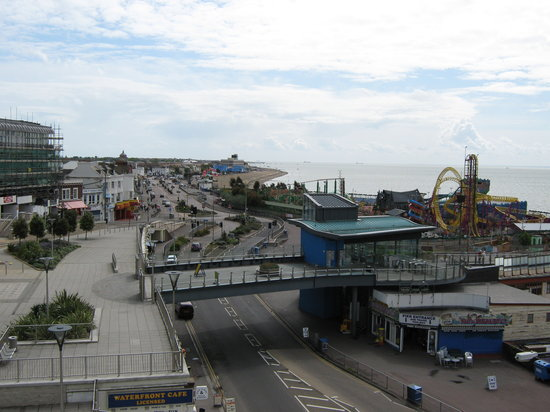 Adventure Island: Southend from Pier Hill