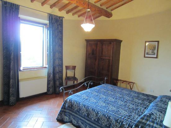Pietrafitta Podere La Costa: The Margahrita room.