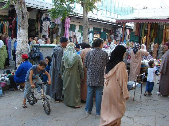 Medina of Tétouan: The bustlng market place