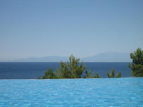 Ikos Oceania: Pool view