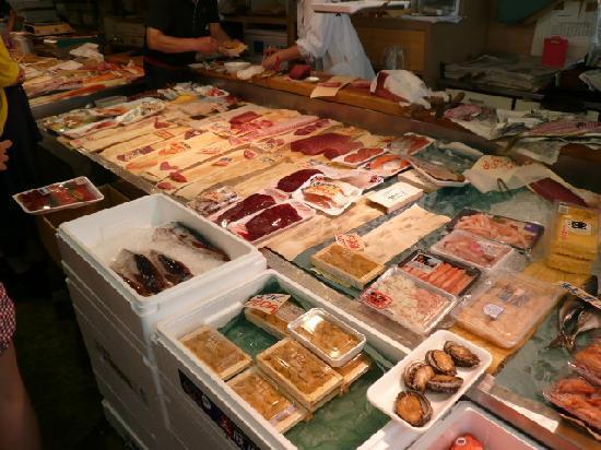 Aomori Gyosai Center Honten: choose any fish you like
