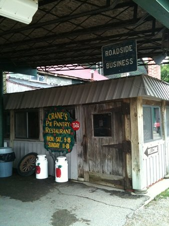 Crane's Pie Pantry: Don't be afraid to go in.