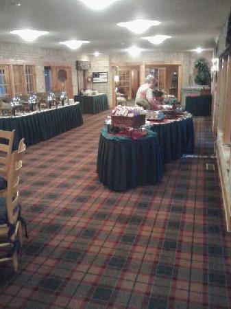 Yarrow Golf & Conference Resort: buffet 1
