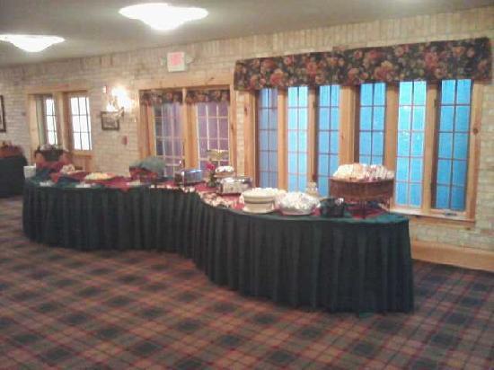 Yarrow Golf & Conference Resort: buffet 2
