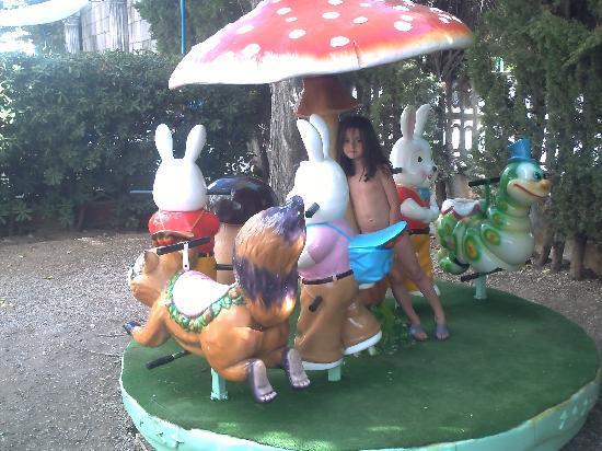Hotel Magic Villa Luz: Zona del parque infantil del hotel.