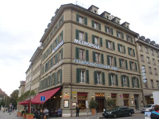 Hotel Metropole : ホテル外観