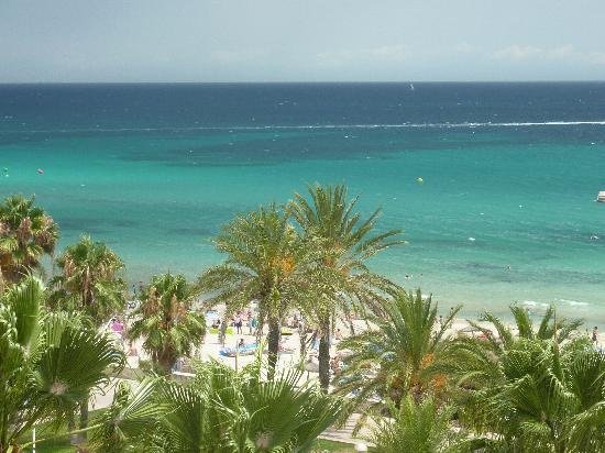 SENTIDO Playa del Moro: View from balcony on 5th floor