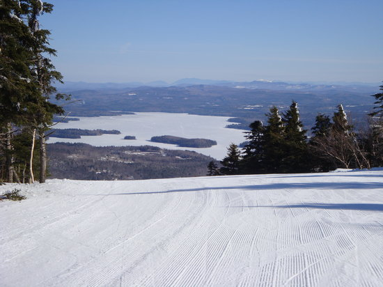 Mount Sunapee State Park and Ski Area: View of Lake Sunapee from Summit