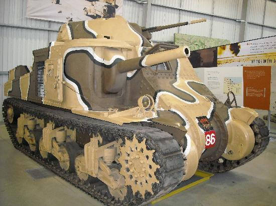 The Tank Museum: Lee/Grant WW2 US tank
