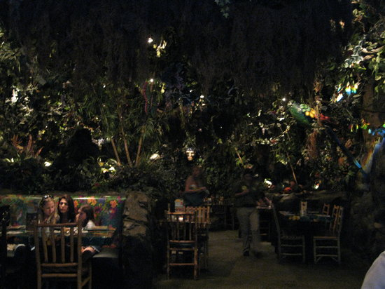 Rainforest Cafe Sawgrass Menu