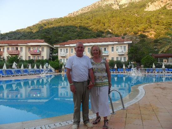 Turquoise Hotel : The swimming pool