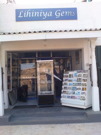 Lihiniya Gems: Picture of the shop