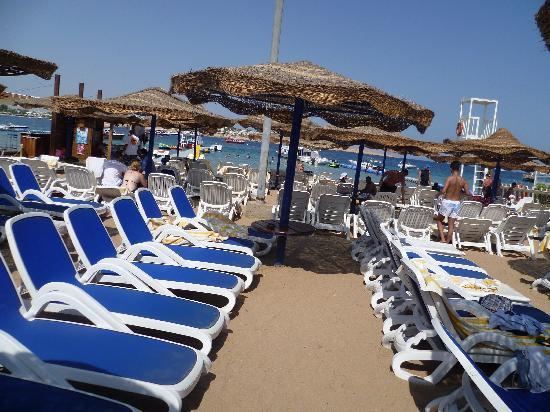 Tropitel Naama Bay: spiaggia