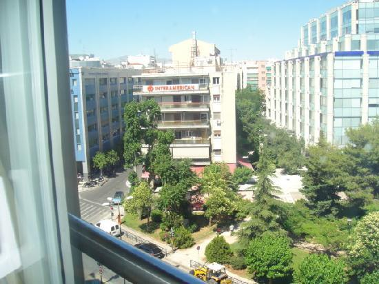 Golden Age Hotel Athens: Another street view from the hotel