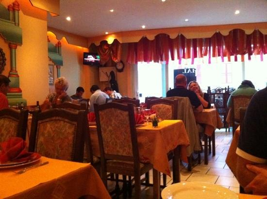 Pleasant dining room!
