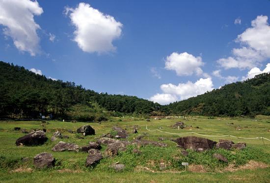 Gochang, Hwasun, and Ganghwa Dolmen Sites : Gochang site
