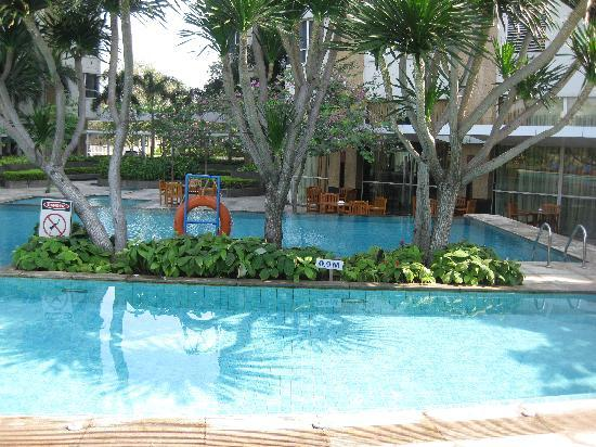 Somerset Berlian Jakarta: Very shallow swimming pool for adult