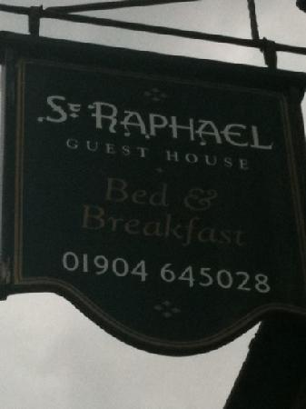 St. Raphael Guest House: we wouldn't stay anywhere else !