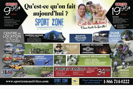 Saint-Adolphe-d'Howard, Канада: 15 activites sur place