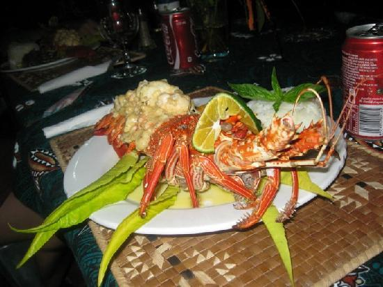 Mala Island Resort : we ordered lobster one night and it was amazing