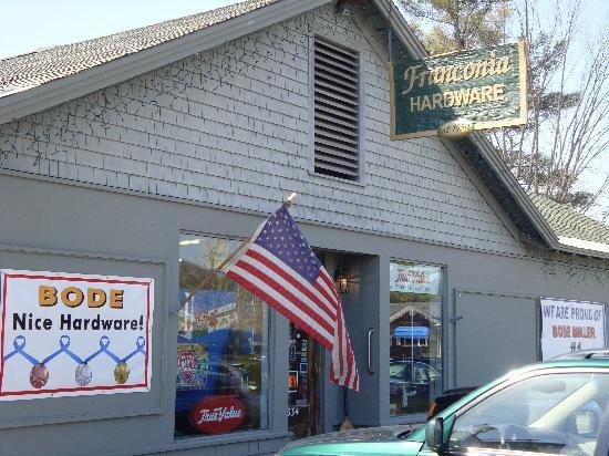 Franconia-Sugar Hill-Easton: Fraconia Hardware Store - Bode's metals