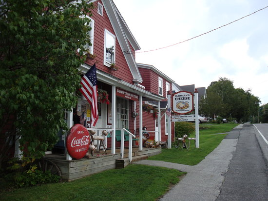 Franconia, Nueva Hampshire: Harman's Country Store, Sugar Hill