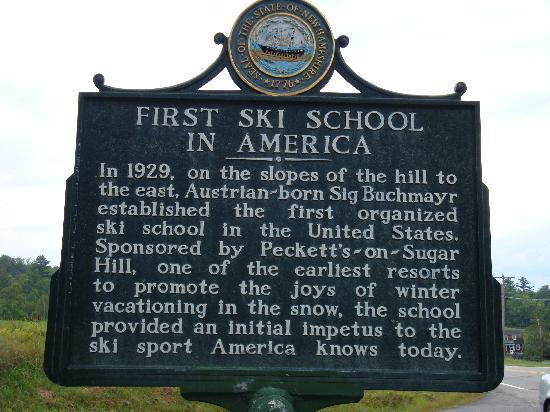 Franconia-Sugar Hill-Easton: First US Ski School, Sugar Hill