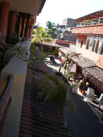 Hotel Casa Celeste: Street View outside Casa Celeste