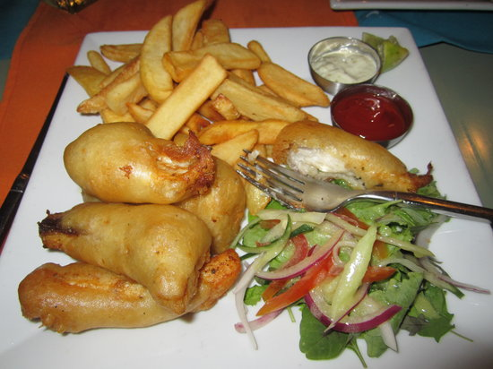 Delirius: The best fish and chips I have ever had!