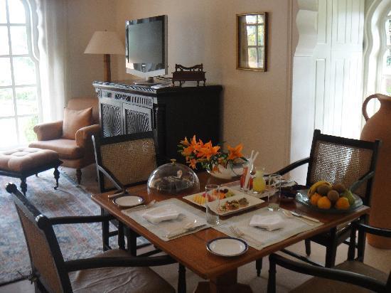 The Oberoi Rajvilas: suite