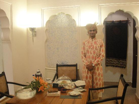 The Oberoi Rajvilas: room service