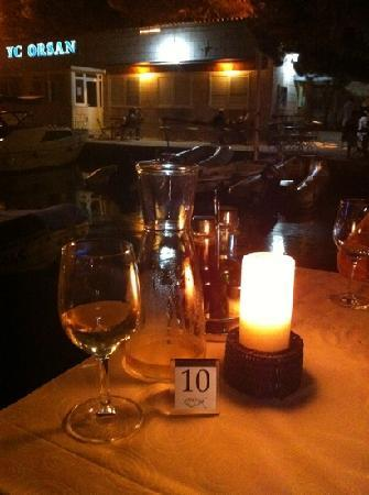 Orsan Yachting Club Restaurant: atmosfera perfetta