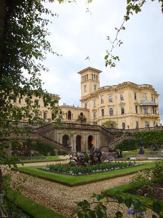 Osborne House: The rear of the main house