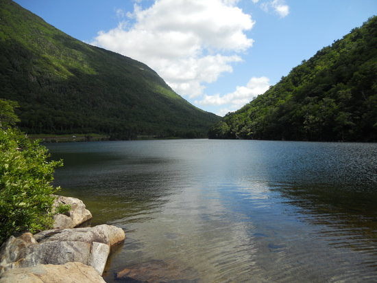 Franconia, Nueva Hampshire: Profile Lake, Fraconia Notch, NH